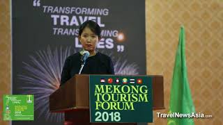 Human Capital by Yin Myo Su of Inle Lake Myanmar at Mekong Tourism Forum 2018
