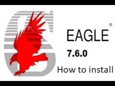 How to install Eagle 7 6 0 on Windows 10 [Crack]