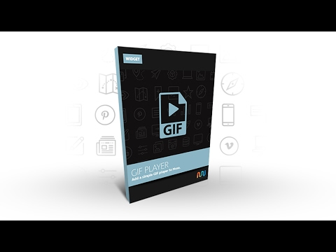 Animated GIF player Widget for Adobe Muse