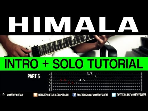 Himala - Rivermaya INTRO + GUITAR SOLO Tutorial (WITH TAB)