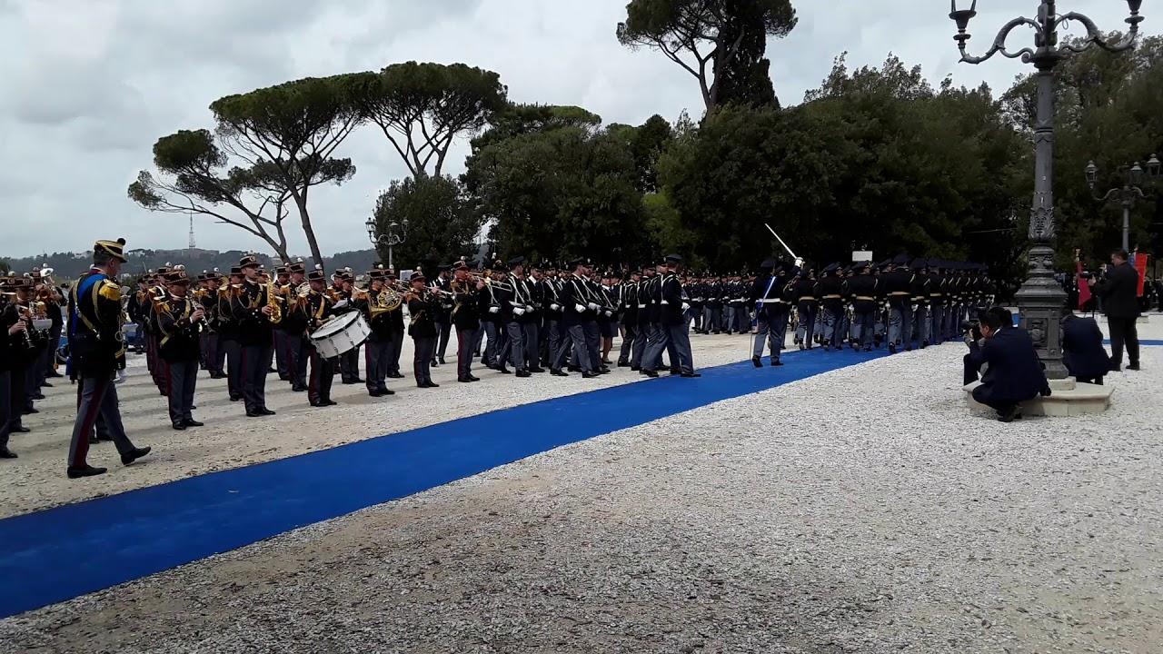 Roma 10 Aprile 2018 Festa Della Polizia 166 Terrazza Del