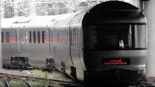 JR東日本 上野駅 寝台特急カシオペア紀行長野 入線