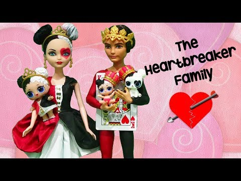 LOL Families ! The Heartbreaker Family Gets a Visit from Grandma | Toys and Dolls Kids Fun | SWTAD