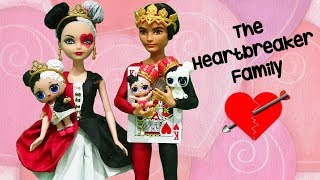 SWTAD LOL Families ! The Heartbreaker Family Gets a Visit from Grandma | Toys and Dolls Kids Fun