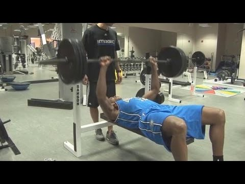 All Access :Kevin Durant Bench Press 315 LBS Workout