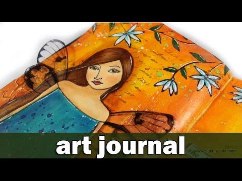 Art journal - she decided