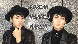 Maquiagem K-Pop Masculina-Natural
