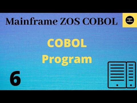 Mainframe Practical Tutorial 6 - COBOL PGM