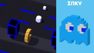 ★ CROSSY ROAD unlock INKY ★ New Secret Character | PAC MAN UPDATE | iOS