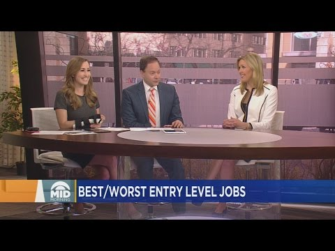 Best & Worst Entry Level Jobs Post Graduation