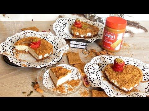 """-ألذ-تشيز-كيك-ممكن-تجربوها-""""تشيز-كيك-اللوتس-بنة-عالمية-cheesecake-lotusbiscoff-cheesecake"""