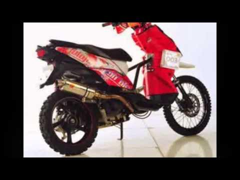Video Kumpulan Gambar Modifikasi Motor Yamaha X Ride Style Trail