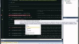 "C# Tutorial ""Split String"" Programming Tutorial NET"