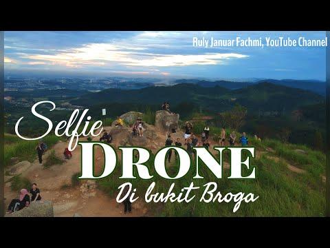 Selfie Drone At Bukit Broga Malaysia
