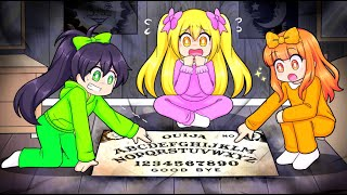 The Squad Plays With A HAUNTED Ouija Board In Roblox...