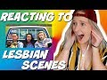 Reacting to lesbian scenes from the Miseducation Of Cameron Post