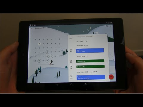 New Google Calendar App Review and Download!