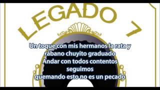 EL AFRO -Legado 7 (Descarga/letra/estudio 2017)