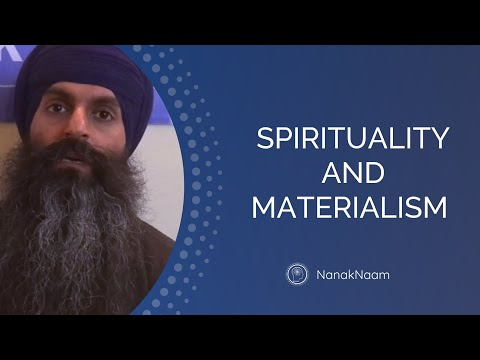 Can I be spiritual in a materialistic world?