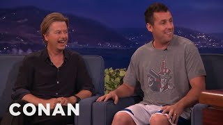 Adam Sandler Warned Chris Farley Not To Beat Up David Spade  - CONAN on TBS