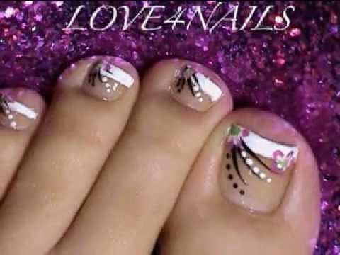 Christmas Toe Nail Art Ideas Youtube