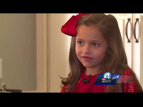 Kindergartner starts her own business to help others