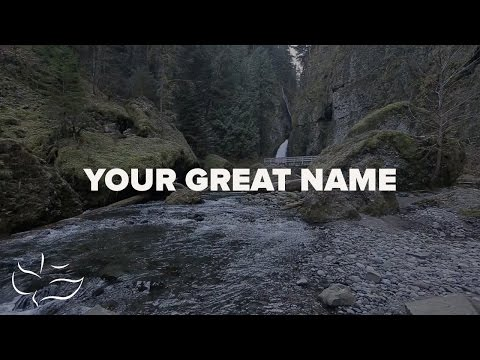 Your Great Name | Maranatha! Music (Lyric Video)