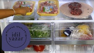 Buzdolabı Nasıl Düzenlenir ? | Pratik Mutfak - Bölüm 17
