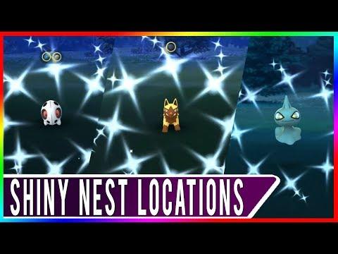 POKEMON GO SHUPPET NEST SHINY HUNTING! Best Shiny Nest Locations in San Francisco Area