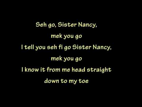 Bam Bam - Sister Nancy (lyrics)