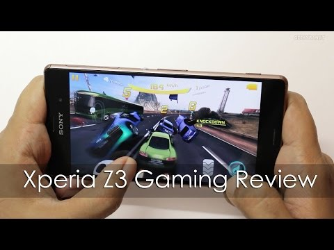 Sony Xperia Z3 Gaming Review With HD Games & Temp Check