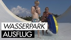 Busen-Blitzer im Wasserpark Mallorca mit Biggi Bardot & Aische Pervers