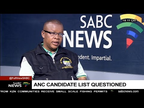 Controversial names on ANC provincial candidates list: Dakota Legoete