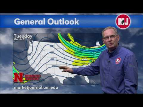 March 17, 2017 Weekly Weather Forecast