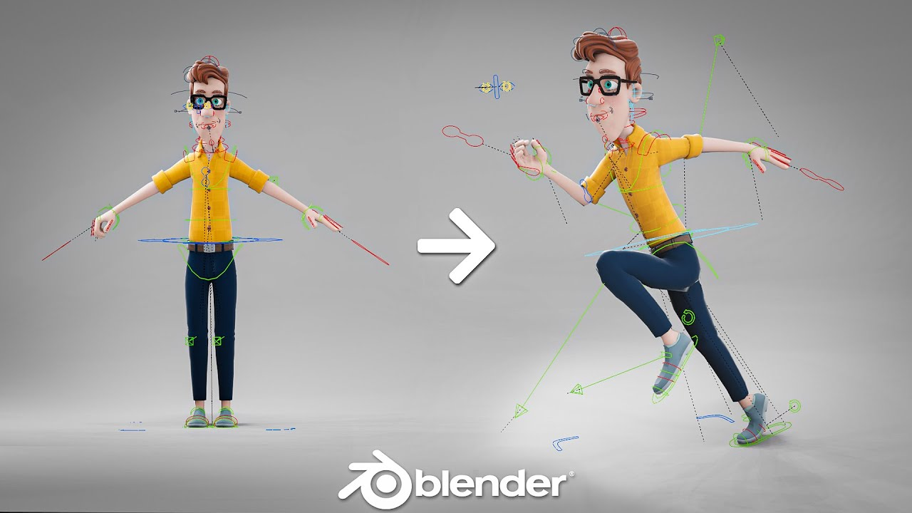 How to Animate 3D Characters in 1 Minute
