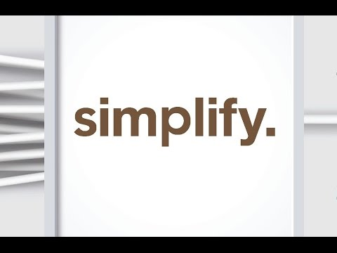 Simplify : From Exhausted to Energised