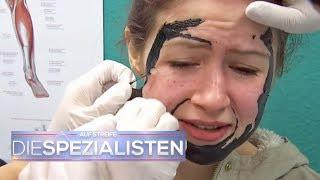 YouTube-Tutorial geht schief! Gesichtsmaske geht nicht ab! | Auf Streife | SAT.1 TV