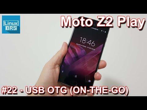 Motorola Moto Z2 Play -  OTG USB (ON THE GO)