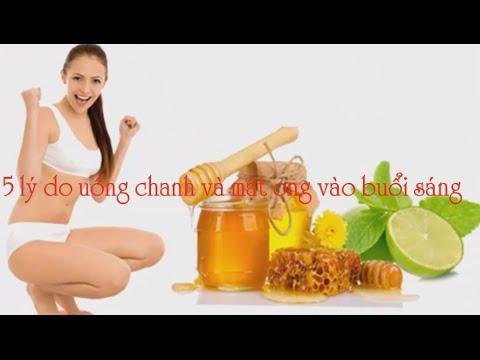 Giảm cân – 5 Lý Do Uống Chanh Và Mật Ong Vào Buổi Sáng