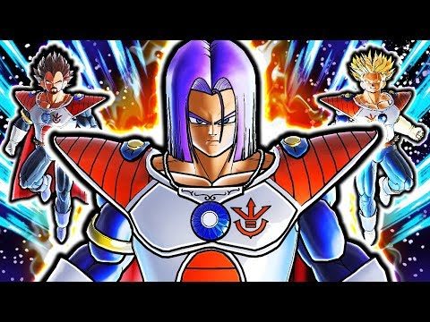 NEW PRINCE TRUNKS ROYAL BLOODLINE! Dragon Ball Xenoverse 2 Prince Trunks Vs King Vegeta Gameplay