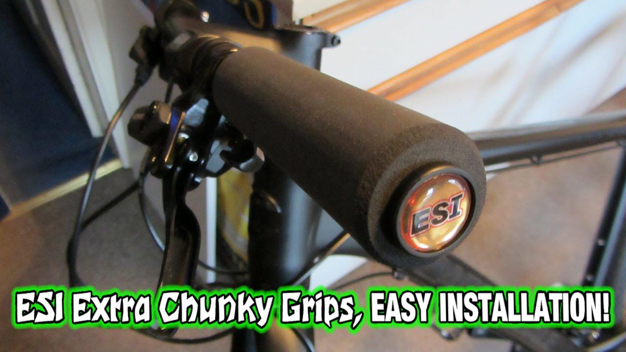 ESI Extra Chunky Silicone Grips Black
