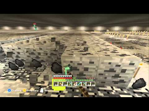 Minecraft Xbox 360 - Mining 10,000 Coal Ore Blocks. (4000% Speed)