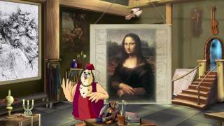 Леонардо да Винчи. Сказки картинной галереи.