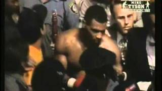 Mike Tyson best/most intimidating entrance EVER