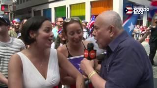 Espectadores disfrutan del Desfile Nacional Puertorriqueño | DNPR 2019