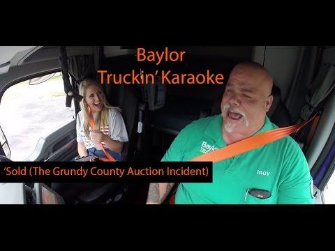 Baylor's Truckin' Karaoke - John Michael Montgomery's 'Sold'