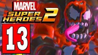 LEGO Marvel Super Heroes 2 Walkthrough Part 13 ALCHEMAX BUILDING / CARNOM BOSS