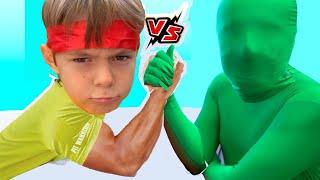 Bogdan se lupta cu microbul