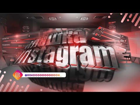 Плашка инстаграм для видео   Футаж социальная сеть инстаграм   INSTAGRAM