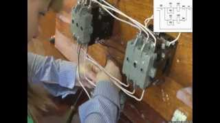 видео Схема подключения трехфазного электродвигателя